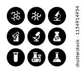 microbiology icon. 9...   Shutterstock .eps vector #1154914954