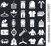 set of 25 icons such as winter...