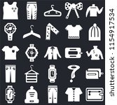 set of 25 icons such as wallet  ...