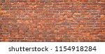 brick wall texture  background... | Shutterstock . vector #1154918284