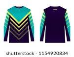templates of sportswear designs ...   Shutterstock .eps vector #1154920834
