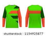 templates of sportswear designs ...   Shutterstock .eps vector #1154925877