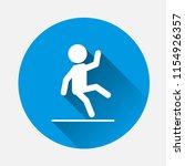man drops vector icon. symbol... | Shutterstock .eps vector #1154926357