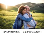 side view of senior couple... | Shutterstock . vector #1154932204