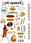 signs and symbols for organized ... | Shutterstock .eps vector #1154933824