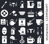set of 25 icons such as soap...