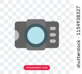 photograph vector icon isolated ...   Shutterstock .eps vector #1154938327