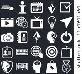 set of 25 icons such as check ...