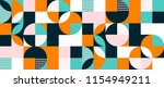 abstract geometric background... | Shutterstock .eps vector #1154949211