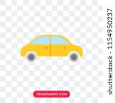 car vector icon isolated on...   Shutterstock .eps vector #1154950237