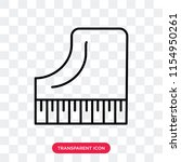 piano vector icon isolated on... | Shutterstock .eps vector #1154950261