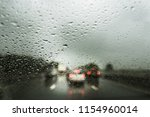 Rain On The Motorway  Heavy...
