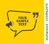 text frame design vector... | Shutterstock .eps vector #1154962474