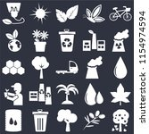 set of 25 simple editable icons ...