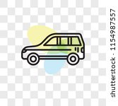 car vector icon isolated on...   Shutterstock .eps vector #1154987557