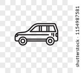 car vector icon isolated on...   Shutterstock .eps vector #1154987581