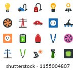 colored vector icon set   hair...   Shutterstock .eps vector #1155004807