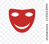 mask vector icon isolated on... | Shutterstock .eps vector #1155015094