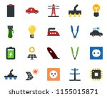 colored vector icon set   hair...   Shutterstock .eps vector #1155015871