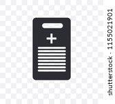 medical history vector icon... | Shutterstock .eps vector #1155021901