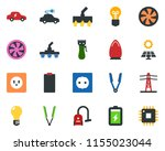 colored vector icon set   hair...   Shutterstock .eps vector #1155023044