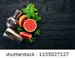 preparation for preparing a... | Shutterstock . vector #1155027127