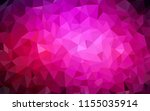 dark pink vector low poly... | Shutterstock .eps vector #1155035914