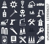 set of 25 icons such as sanding ...