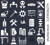 set of 25 icons such as coal ...