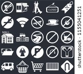 set of 25 icons such as turn ...