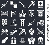 set of 25 icons such as armour  ...