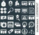 set of 25 icons such as sitemap ...