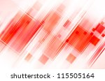 abstract red background | Shutterstock . vector #115505164