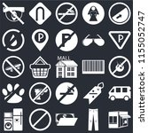 set of 25 icons such as store ...