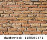 orange and red brick wall | Shutterstock . vector #1155053671