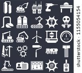 set of 25 icons such as switch  ...