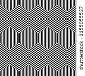 seamless geometric pattern.... | Shutterstock .eps vector #1155055537