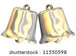 beautiful gleaming bells... | Shutterstock . vector #11550598