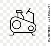 stationary bike vector icon... | Shutterstock .eps vector #1155061054