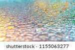 water drops on color surface... | Shutterstock . vector #1155063277