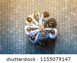 close up top view of young... | Shutterstock . vector #1155079147