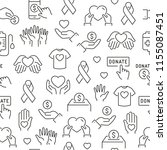 seamless pattern with...   Shutterstock .eps vector #1155087451