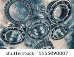 titanium ball bearings used for ...   Shutterstock . vector #1155090007