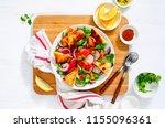 freshly cooked homemade...   Shutterstock . vector #1155096361