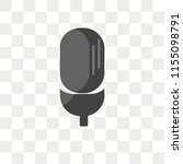 singer vector icon isolated on... | Shutterstock .eps vector #1155098791