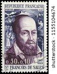 808 paris  france   1967  st....   Shutterstock . vector #1155104674