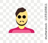 man vector icon isolated on...   Shutterstock .eps vector #1155105811