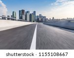 empty road with modern business ... | Shutterstock . vector #1155108667