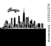 Vector Drawing Of Chicago...