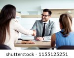 customer buying a car at... | Shutterstock . vector #1155125251